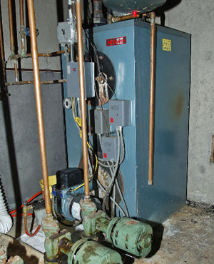 Heating with Oil or Gas