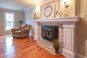 fireplace adding value to a home