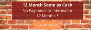 12 months same as cash offer