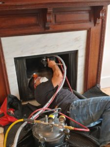 get a chimney cleaning as a part of your chimney care
